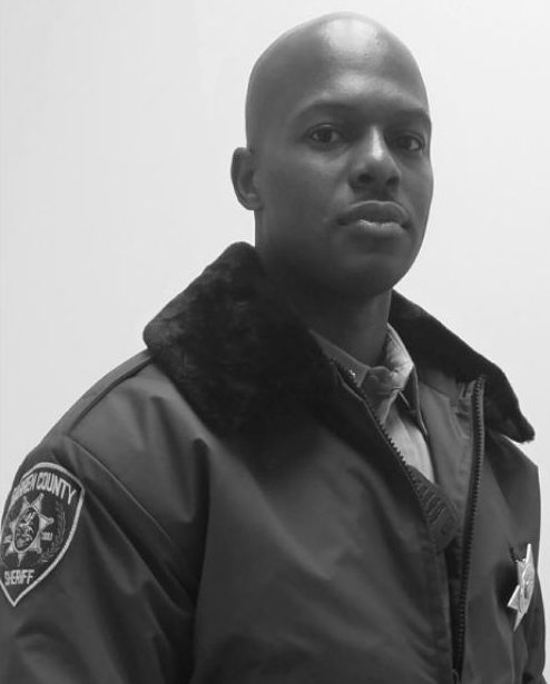 bodybuilder rob niter joins halloween sheriff s department
