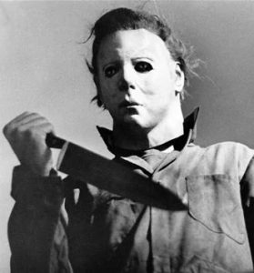 Nick Castle as Michael Myers (photo by Kim Gottlieb-Walker)