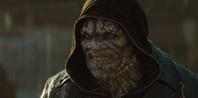 Adewale Akinnuoye Agbaje as Killer Croc in 'Suicide Squad'.