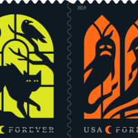 U.S. Postal Service Announces 2019 Halloween Stamps