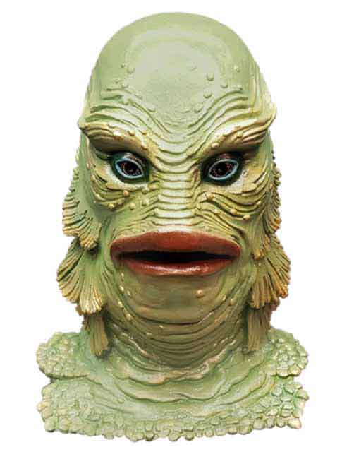 Creature from the Black Lagoon mask by Trick or Treat Studios