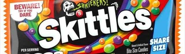 "Skittles Sour ""Shriekers"" Coming for Halloween 2021"