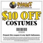 $10 Off $10 Costume Purchase at Spirit Halloween