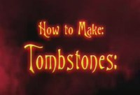 make your own tombstone | Halloween-errific