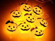 pumpkin Halloween lights