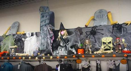 asda halloween display