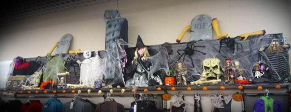 asda halloween display