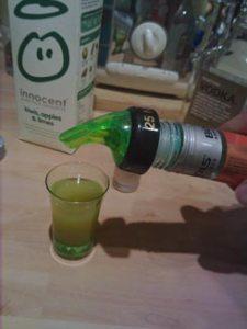 frankenslammer halloween cocktail