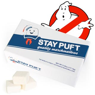 Stay Puft Caffeinated Marshmallows