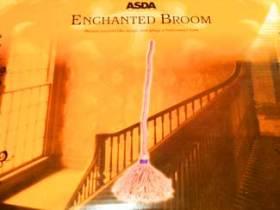 Asda Halloween enchanted broom