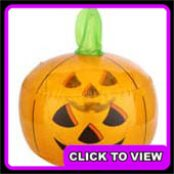 Asda Halloween inflatable pumpkin