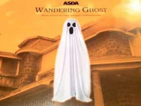Asda Halloween wandering ghost