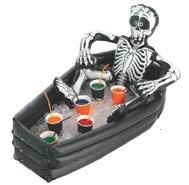 Asda Halloween drinks coffin