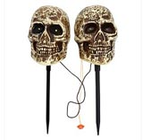 Sound Activated Skeleton Stake Decorations asda