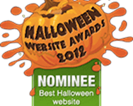 halloween website awards