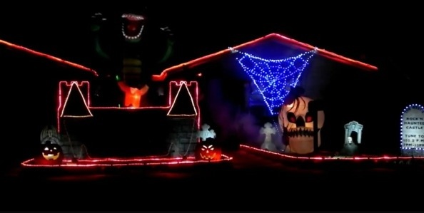 halloween light shows