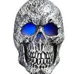 asda skull mister halloween