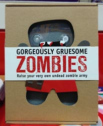 Gorgeously Gruesome Zombies Craft Box Set cute zombie