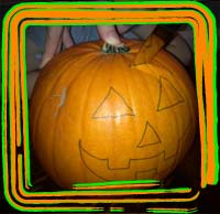 cutting lid pumpkin