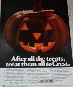 crest toothpaste halloween
