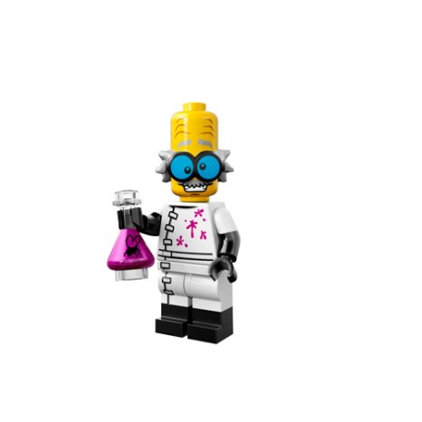 Lego Monsters Minifigure mad scientist