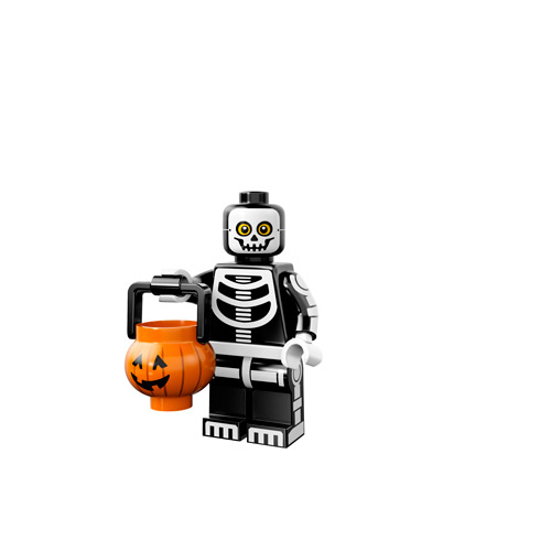Lego Monsters Minifigure skeleton trick or treater