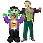 Asda halloween 2015 frankenstein inflatable