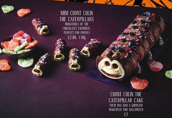 M&S Halloween 2017 treats Marks and Spencer Count Colin