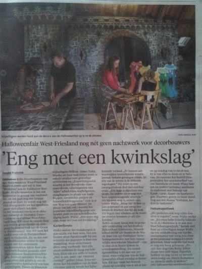 eng met een kwinkslag nh dagblad – halloweenfair west-friesland