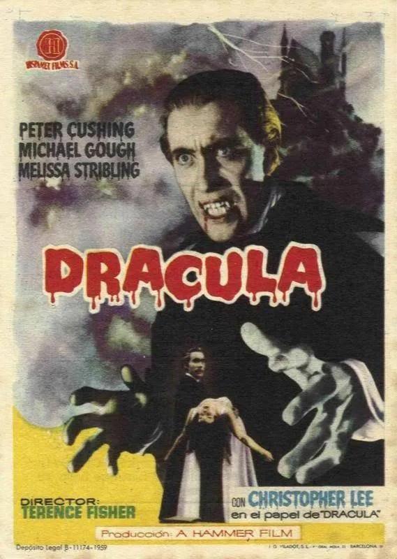 the Horror of Dracula ⚰️ (1958) FULL MOVIE 11