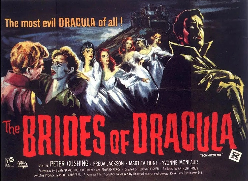🎥 The Brides of Dracula (1960) FULL MOVIE 1