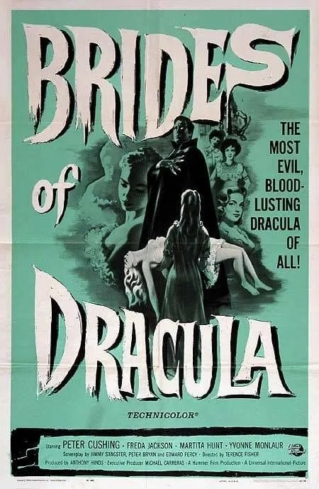 🎥 The Brides of Dracula (1960) FULL MOVIE 3