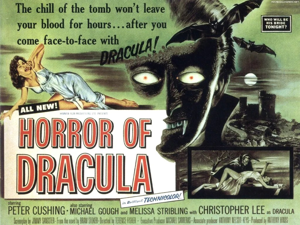the Horror of Dracula ⚰️ (1958) FULL MOVIE 12