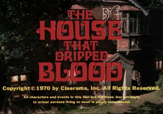 🎥 the House that Dripped Blood(1971)FULL MOVIE 53
