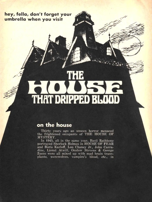 🎥 the House that Dripped Blood(1971)FULL MOVIE 54