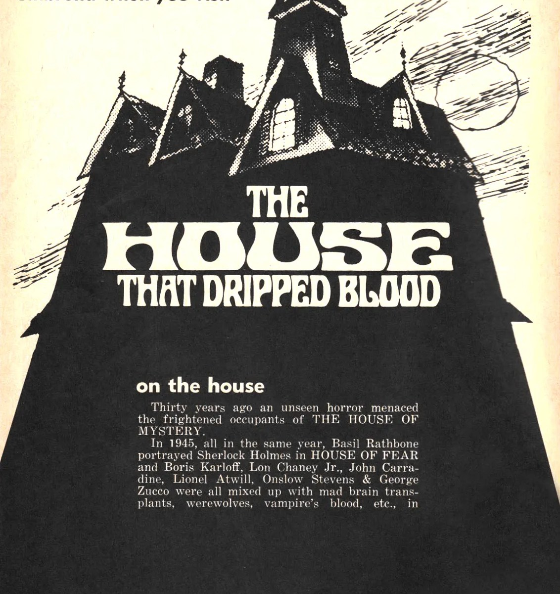 🎥 the House that Dripped Blood(1971)FULL MOVIE 52