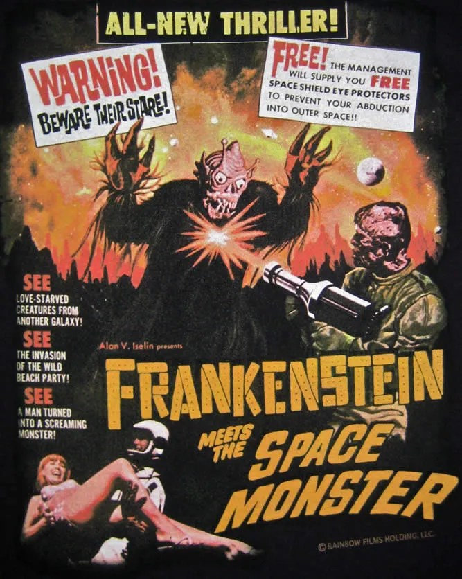 Frankenstein Meets the Space Monster (1965) FULL MOVIE 2