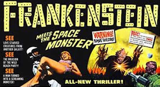 ? Frankenstein Meets the Space Monster (1965) FULL MOVIE 1
