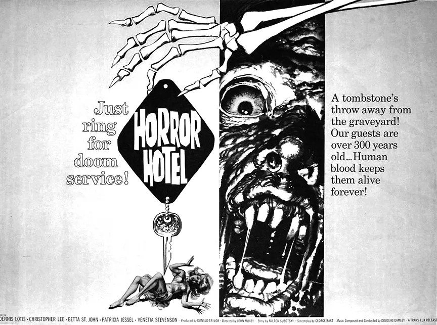 ? Horror Hotel (1960) FULL MOVIE 1