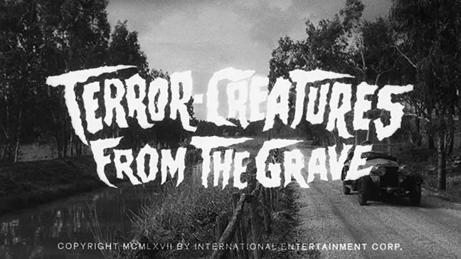 ? Terror Creatures ƒrom The Grave (1965) FULL MOVIE 50