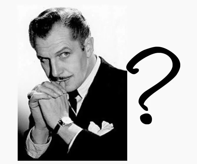 What do you know about Vincent Price? - Quiz 7