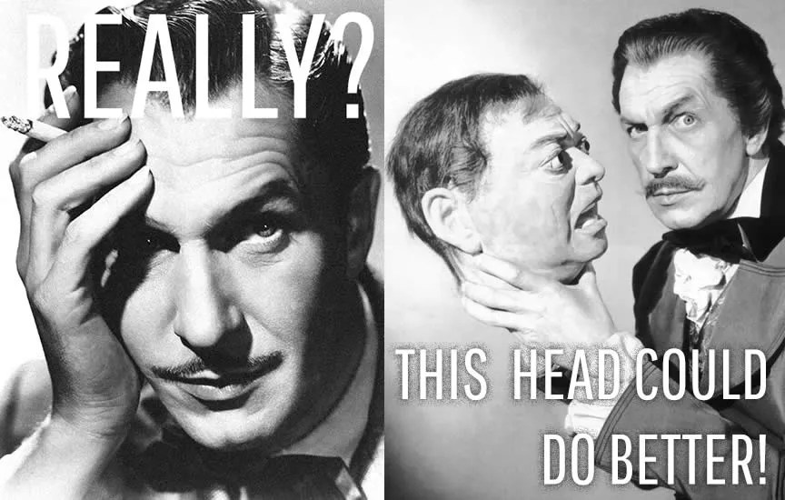 What do you know about Vincent Price? - Quiz 2