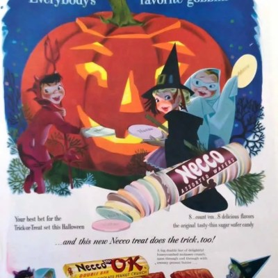 Classic and Vintage Halloween Publication Ads 10