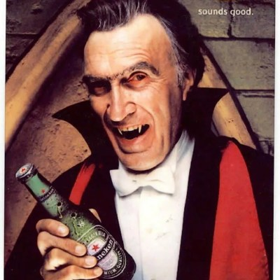 Heineken advert Halloween classic monsters
