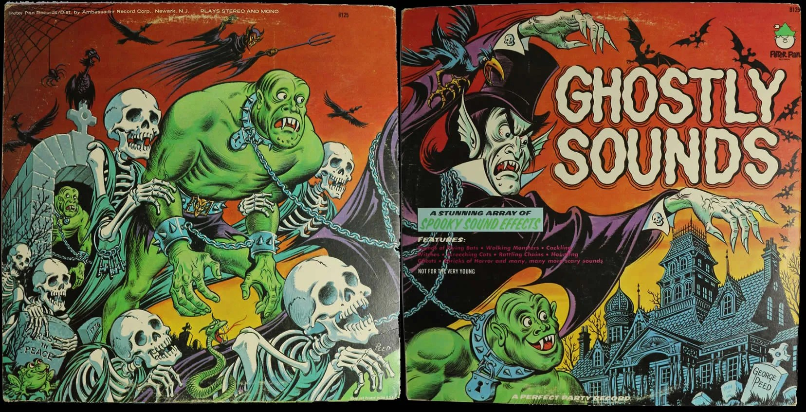 Ghostly Sounds Stereo LP (1975) 1