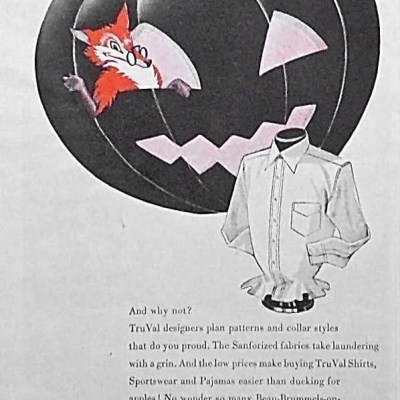 Classic and Vintage Halloween Publication Ads 19