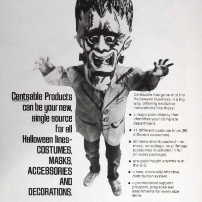 Classic and Vintage Halloween Publication Ads 17