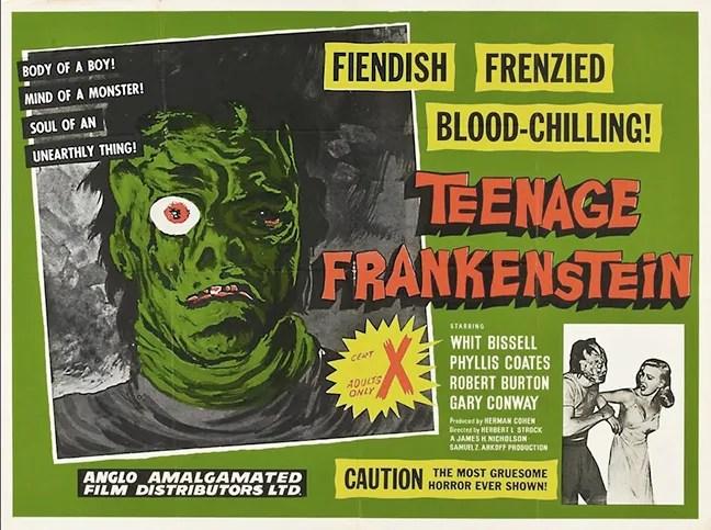 I Was a Teenage Frankenstein (1958) FULL MOVIE 1