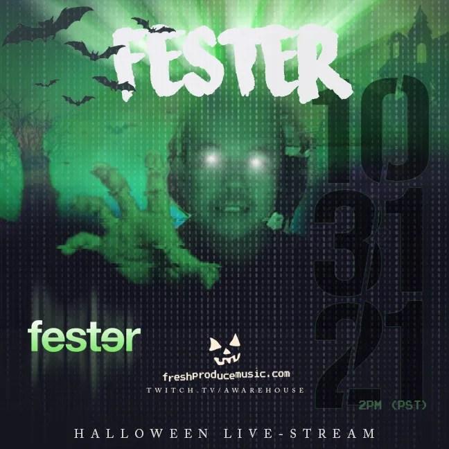 DJ Fester - Los Angeles, Halloween Live Stream Fresh Produce Music 10-31-21