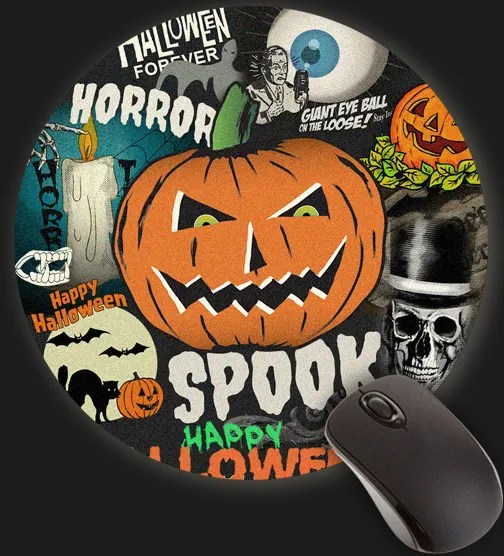 Halloween Forever Home Decor - Mouse Pad